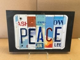 Recycled License Plates
