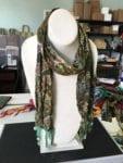"""""""necklace"""" scarf  42 L x 1-1/2 W"""